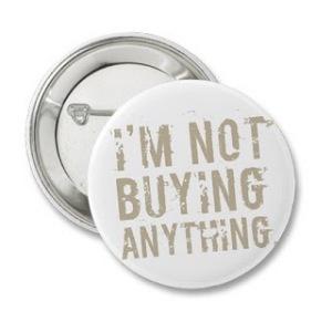 not buying anything