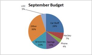 pie chart actual